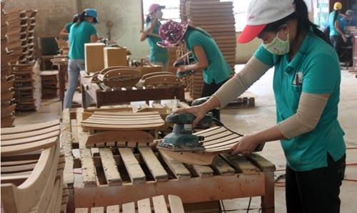 2 tháng đầu năm 2014: Xuất khẩu đồ gỗ tăng 8,4%, đạt 796 triệu USD